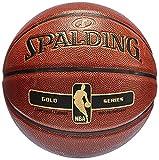 Spalding NBA Gold 76-107Z Balón de baloncesto, Naranja, 6
