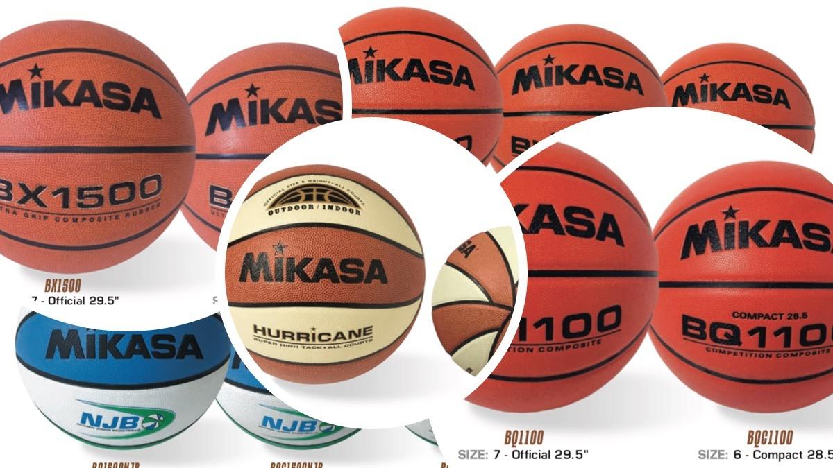 Mikasa Pelotas de básquet