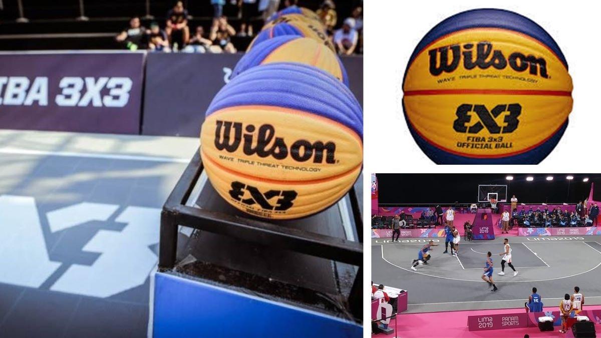Balón Oficial baloncesto 3x3