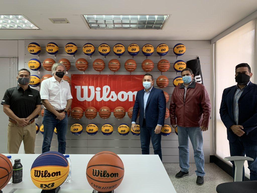 Wilson y la Federación Venezolana de Baloncesto